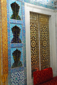 Another view of Circumcision Room inside Topkapi Sarayi complex