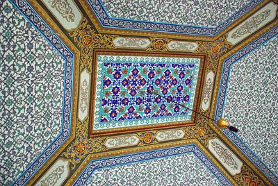 Ceiling of Circumcision Room at Topkapi Sarayi