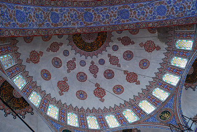 Large Dome of The Blue Mosque