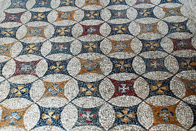 Grand Master's Palace - Mosaic brought from island of Kos