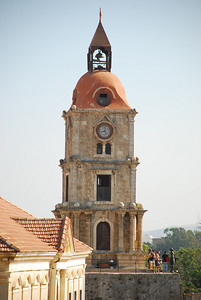 Clock Tower in Rhodes' Old Town