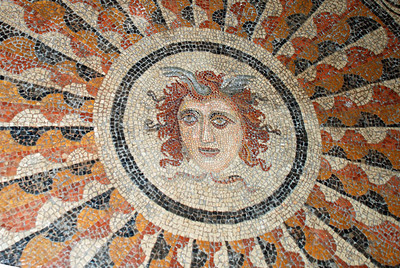 Grand Master's Palace - Mosaics from Hellenistic and Roman tiles