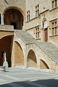 Courtyard of the Grand Master's Palace (Rhodes)