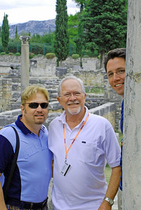 Wes, Bill, & Brett at Solin, Croatia