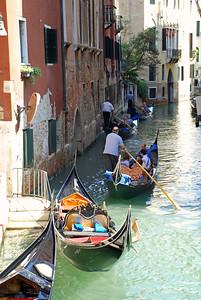 Traffic Jam on Venice Canal