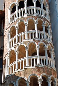 Spiral shape stairway of Palazzo Contarini del Bovolo