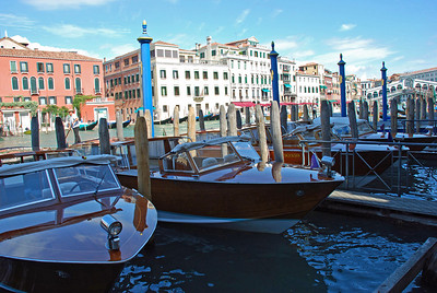 Power Boats on Grand Canal