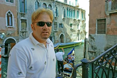 Wesley in Venice