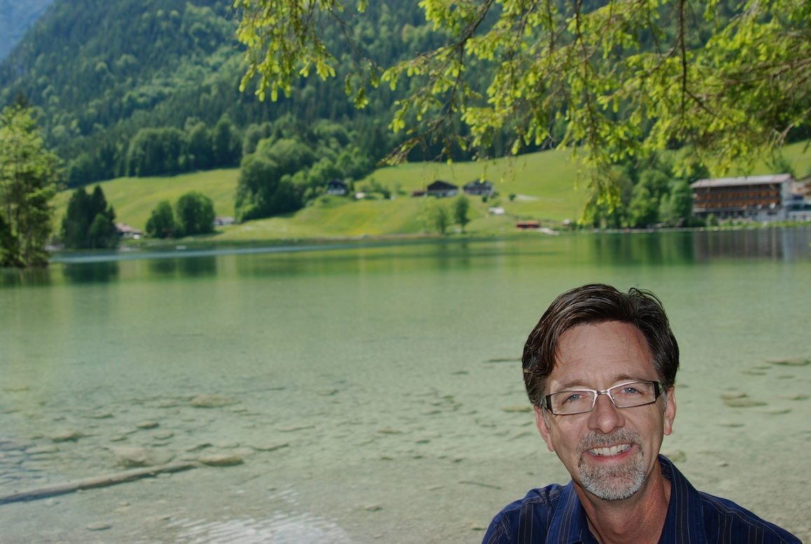 Jerry at Hintersee
