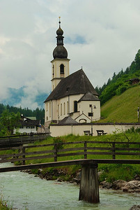 Ramsau parish church