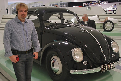 Wes always loved in Beetle; older version at the Porsche Museum