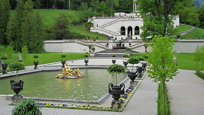 Schloss Linderhof was the last home of King Ludwig II