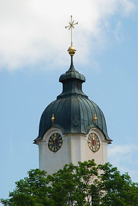 Clock tower of Wieskirche