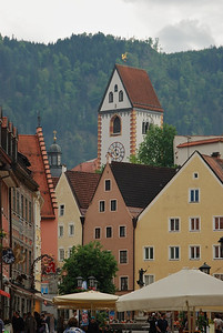 Fussen, Germany - Highest elevation of any German town.