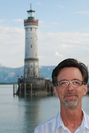 Jerry at Bodensee; Port of Lindau.