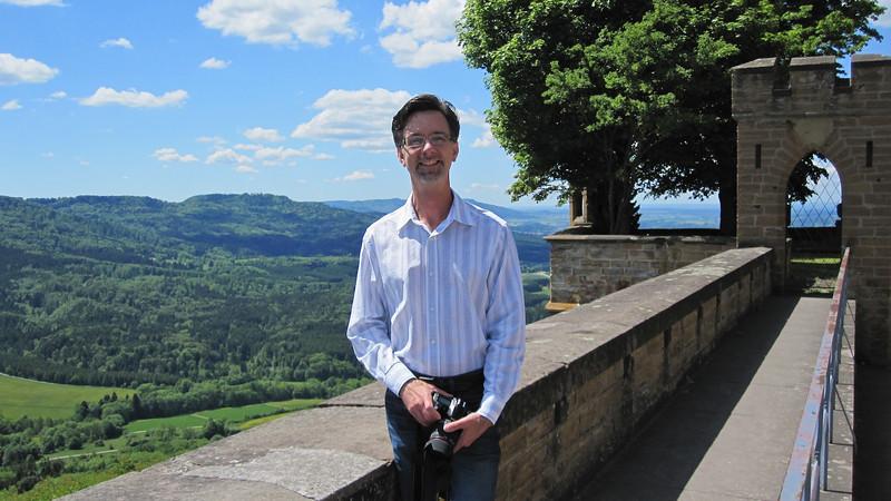 Jerry at Burg Hohenzollern