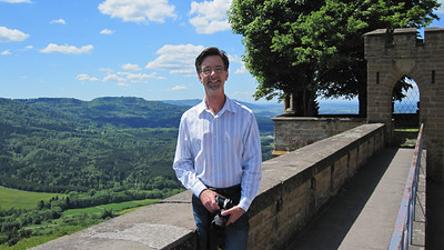 Jerry at Burg Hohenzollern
