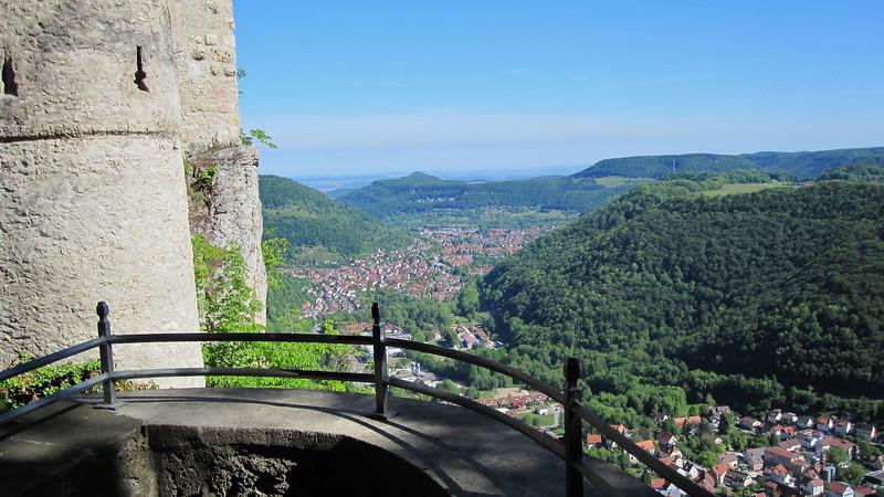 Southern Germany seen from Burg Lichtenstein