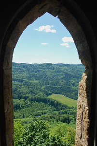 German country-side from Burg Hohenzollern