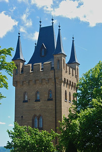 One of the castel towers