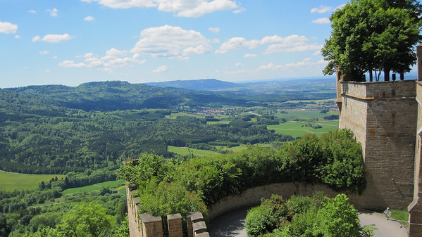 Great view form Burg Hohenzollern