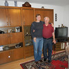 Me & Onkel Gregor in their new apartment.