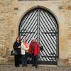 Everyone gets their photo taken in front of this door in Osnabruck.