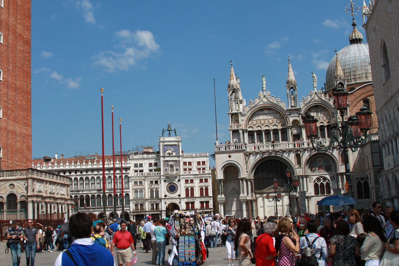 The view from St. Mark's Square.