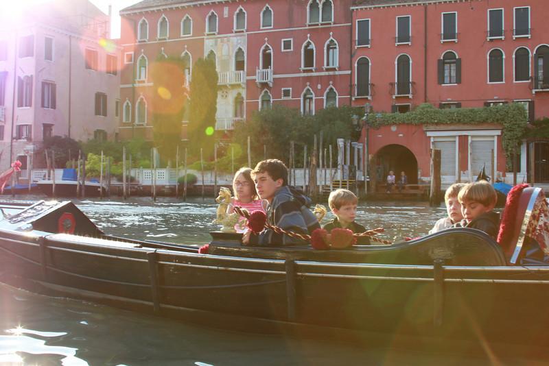 The gondola ride.