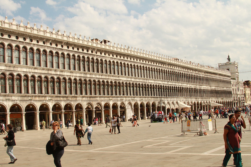 St. Mark's Square in Venice.