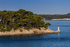 The coast has all of these small islands. They say Croatia has over 1,000 islands like this.