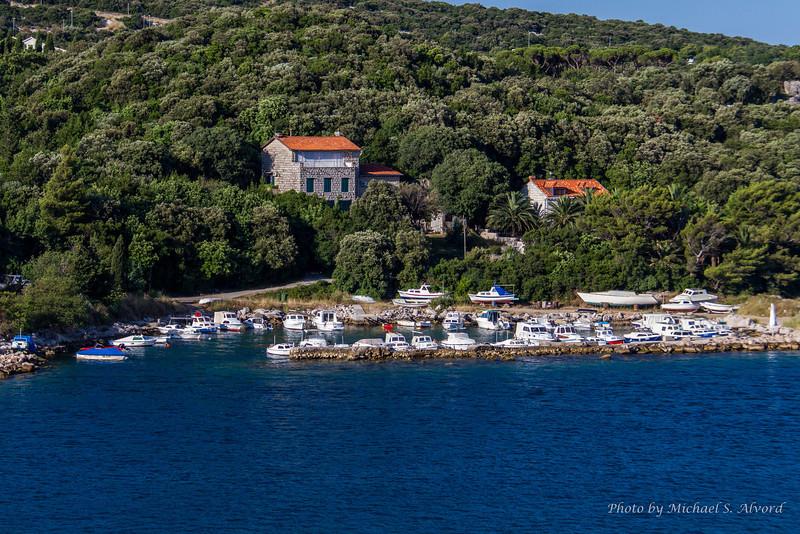 One of the many small marinas.