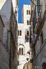 Like all of Europe, very narrow streets.