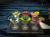 This was our 1st visit to the Martini Bar on the ship. I tried the Martini Sampler which they make in front of you.