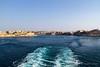 Leaving port.