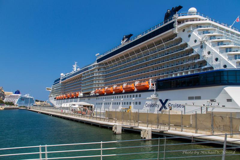 It is a big ship.