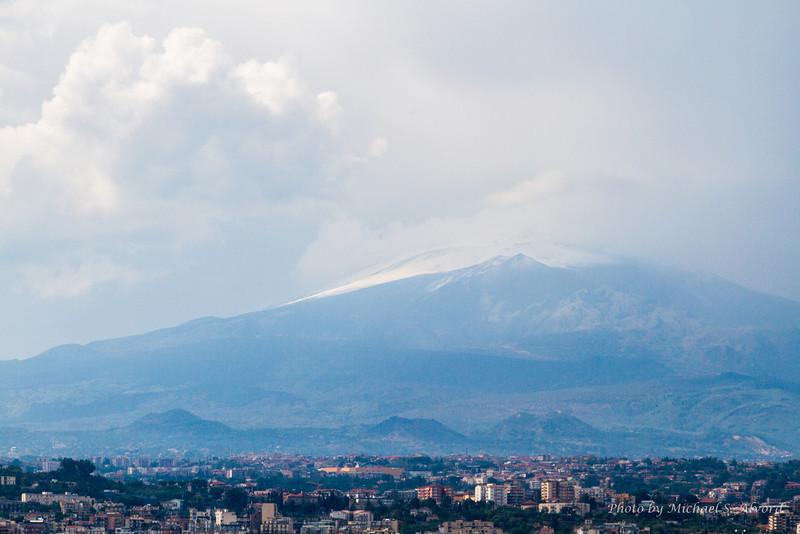Mt Etna looks happy, good volcano.