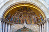 Some of the beautiful adornments on St. Marco's.