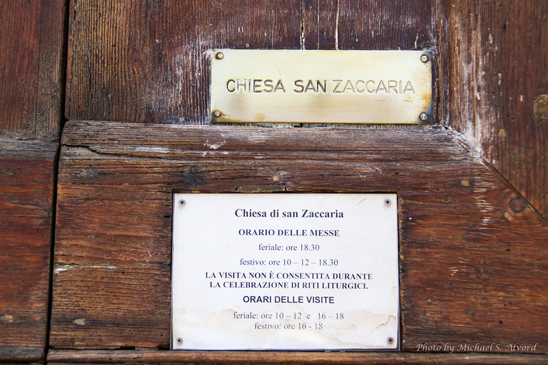 The church of St. Zaccaria