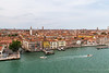 Different shots as our boat is leaving Venice.