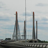 Heading back to Germany: A span bridge near Rotterdam.