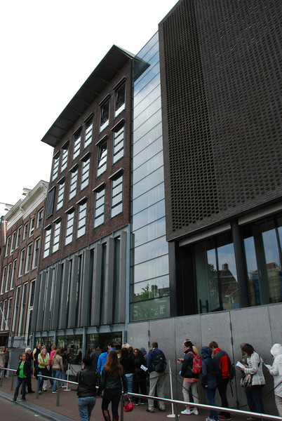 The Anne Frank Museum.