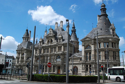 On the way to the central market in Antwerp.