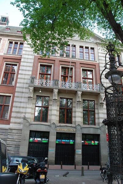 Dutch Stock Exchange building.