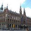 This is a mall near the Dam Square.