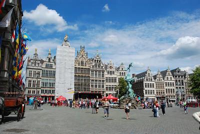 The main marketplace.