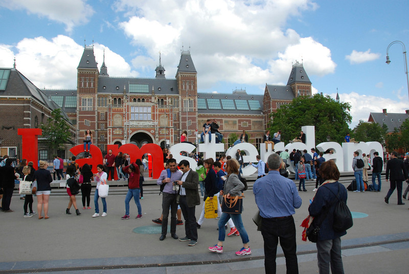 """I amsterdam"" is a key marketing campaign for the city."