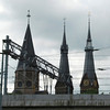 This church has 3 different spires because the 3 architects working on it could not agree on what they wanted for a spire, so each was allowed to build their own.