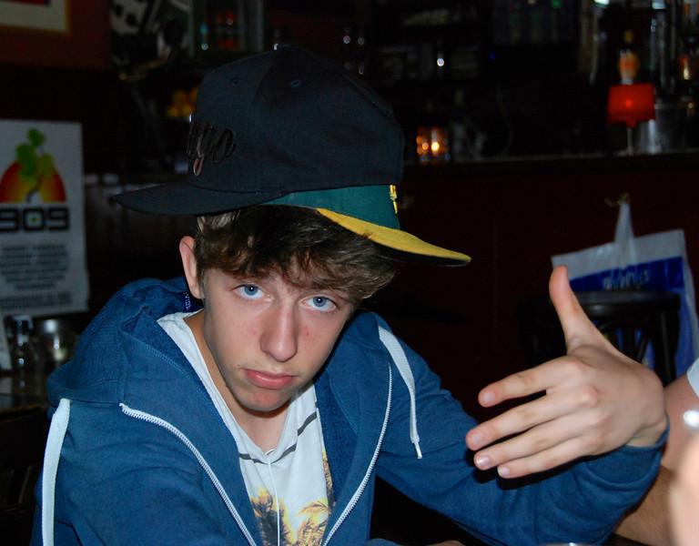 Yo! Joshua with 2 hats.