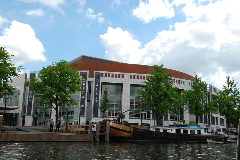 The home of the Amsterdam Opera and Ballet.